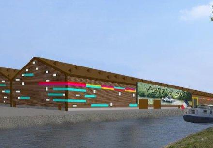 Port a sec et plateforme multimodale de Haumont 440x305