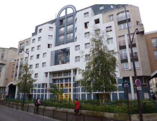 Rehabilitation de la creche rue Petit a Paris