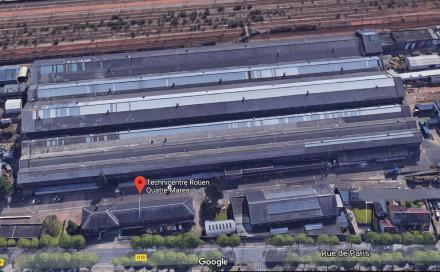 Technicentre SNCF de Rouen a Saint Etienne du Rouvray 440x272