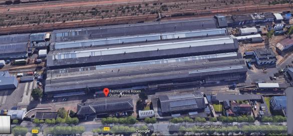 Technicentre SNCF de Rouen a Saint Etienne du Rouvray
