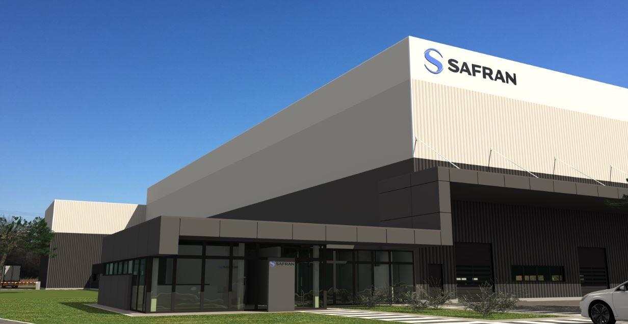 Plateforme logistique Safran
