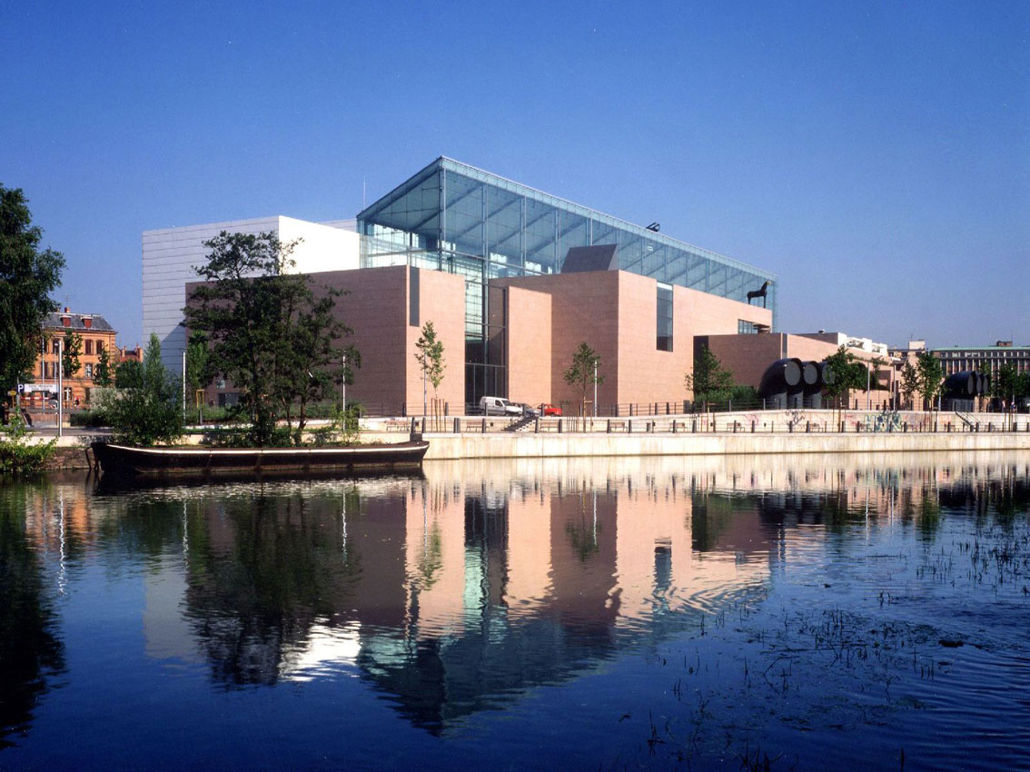 Musee dArt Moderne et Contemporain Vue generale