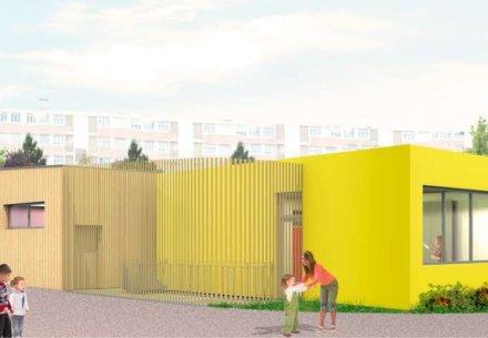 Rehabilitation et extension de l'Ecole Porte du Miroir 440x305