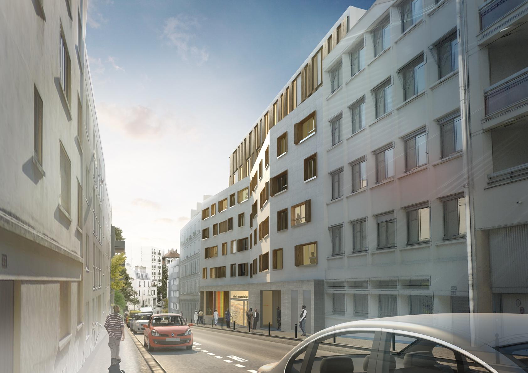 residence sociale 153 studios paris