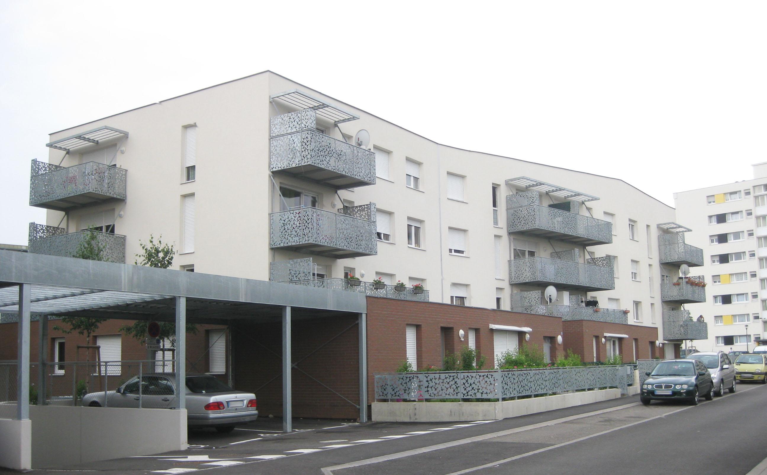 38 logements quartier cronenbourg