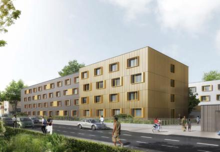 rehabilitation foyer travailleurs migrants en residence sociale strasbourg koenigshoffen 440x305