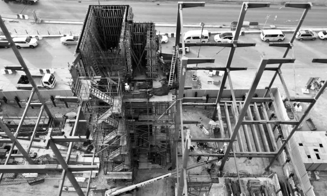 chantier dubai