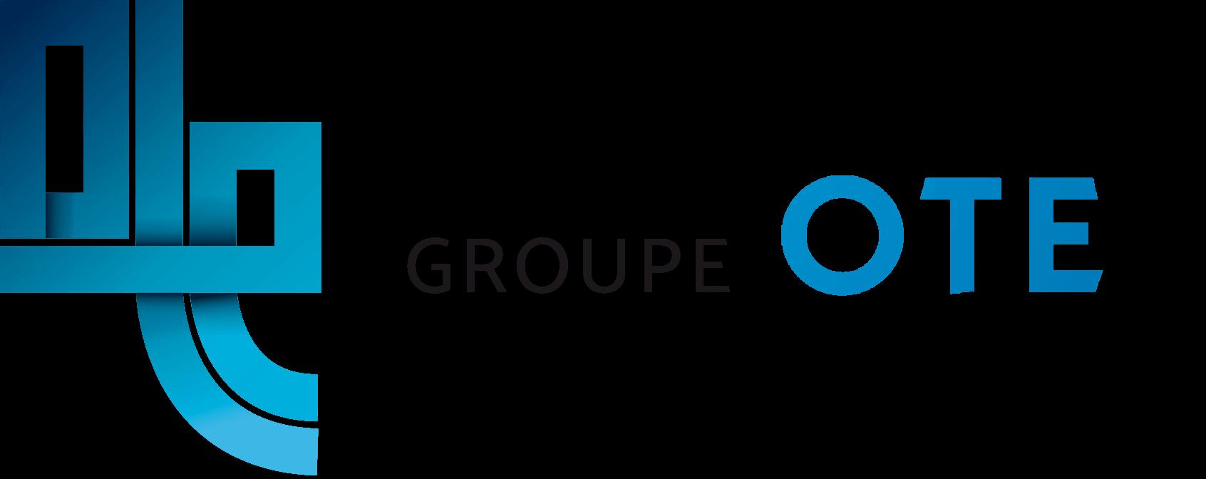 logo groupe ote horizontal transparent